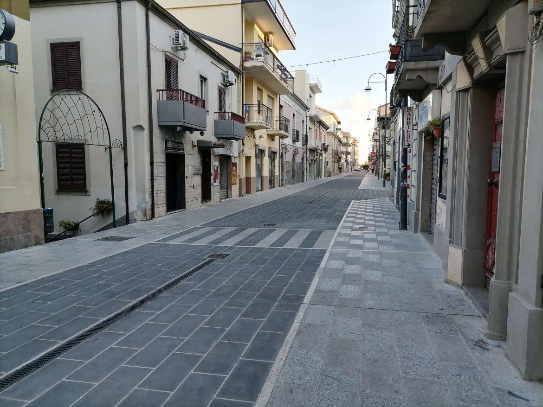 Piazze Covid-19: corso Umberto I di Soverato (VIDEO)