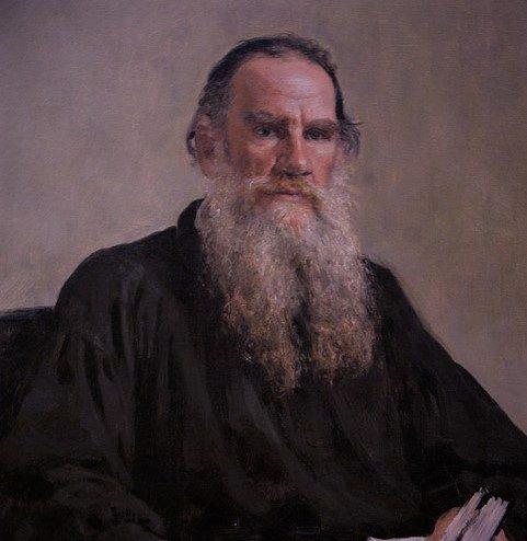 Dipinto di Lev Tolstoj (Pixabay License).