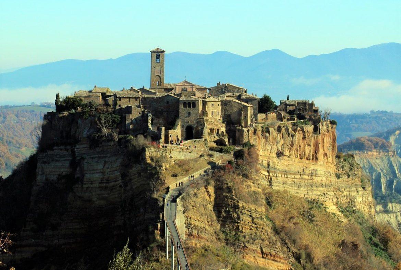 Civita di Bagnoregio in corsa per l'iscrizione nel Patrimonio Unesco