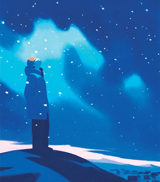 "Recensioni: ""Crepitio di stelle"" di Jón Kalman Stefánsson"