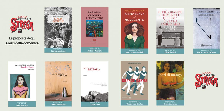 Nuovi 10 libri candidati al Premio Strega 2021