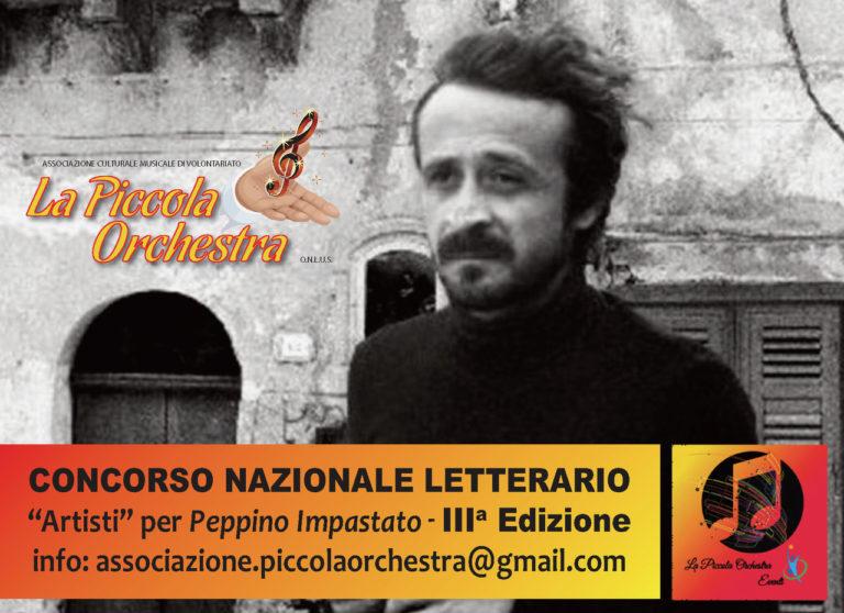 """Premio """"Artisti"""" per Peppino Impastato. Podio per Silvia Camerino"""