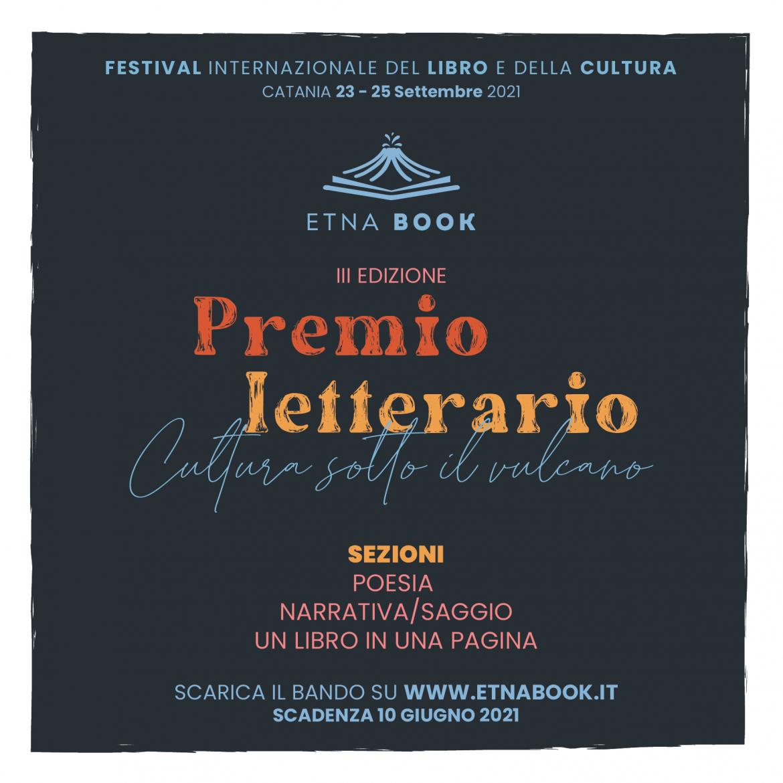 III Premio Letterario Etnabook – Cultura sotto il Vulcano
