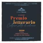 Premio Letterario Etnabook Cultura sotto il vulcano