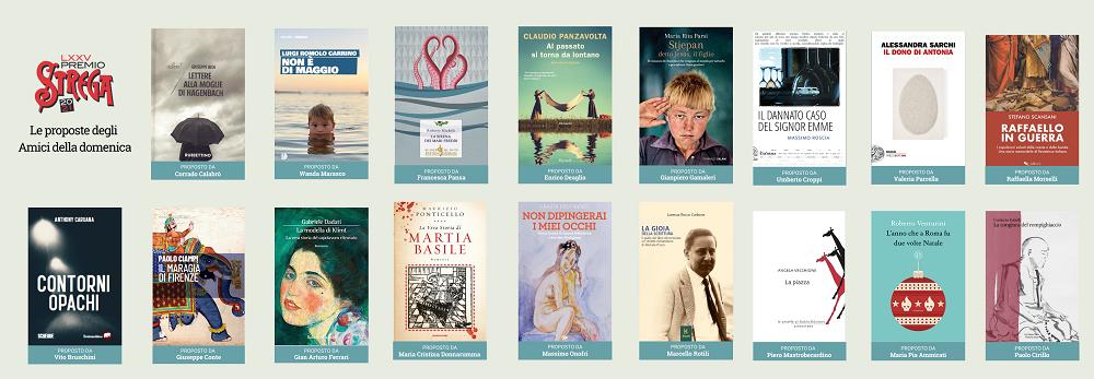 Definita la lista dei 62 libri che si contenderanno il Premio Strega 2021