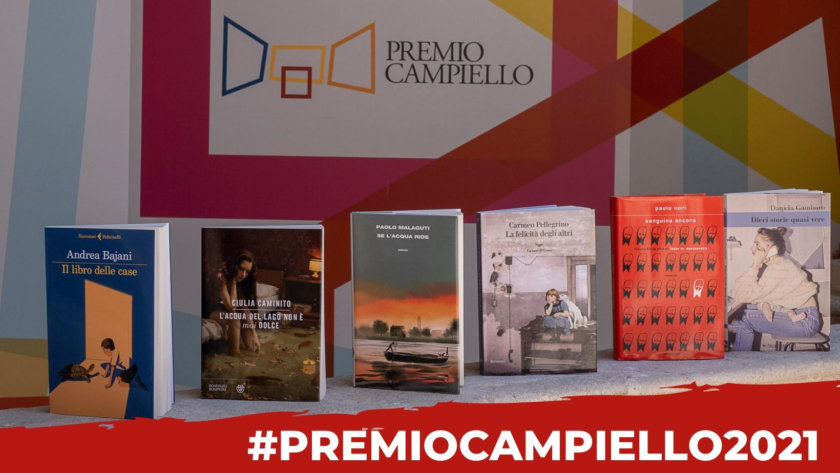 Premio Campiello 2021: annunciata la cinquina finalista
