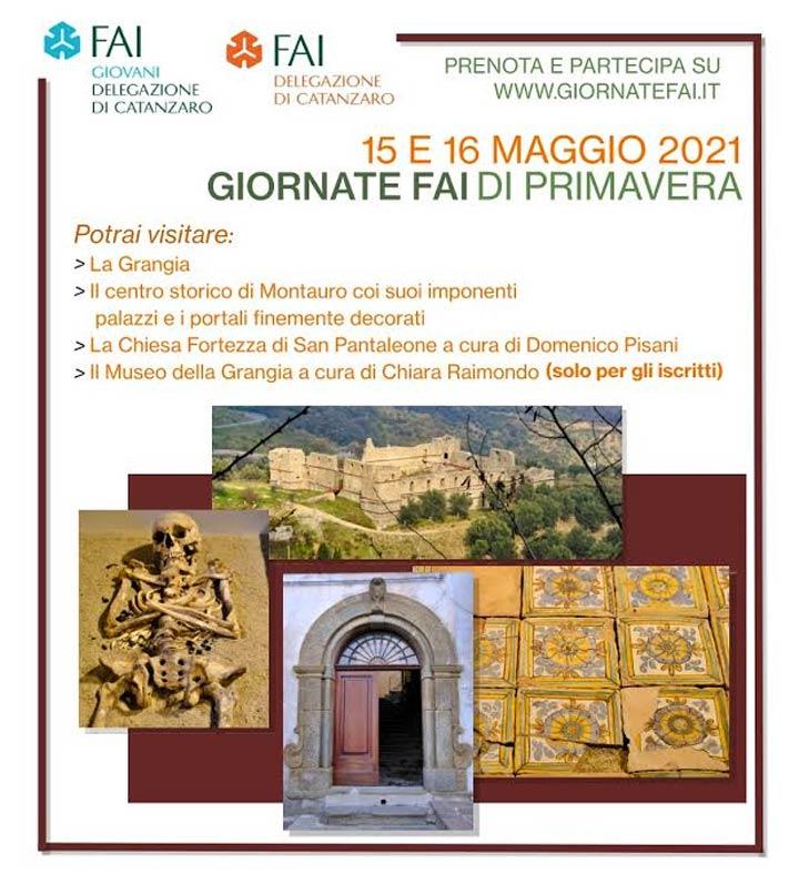 Giornate FAI di Primavera: sabato e domenica visita alla Grangia di Sant'Anna e Montauro