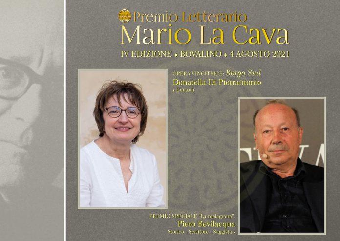 Premio La Cava: il 4 agosto la premiazione con Donatella Di Pietrantonio e Piero Bevilacqua