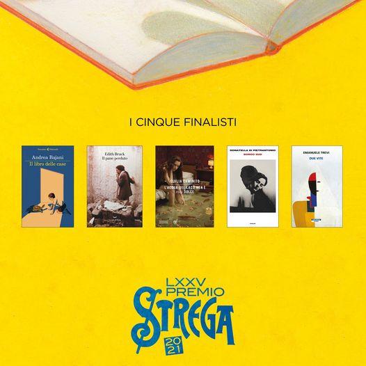 Premio Strega 2021 la cinquina finalista