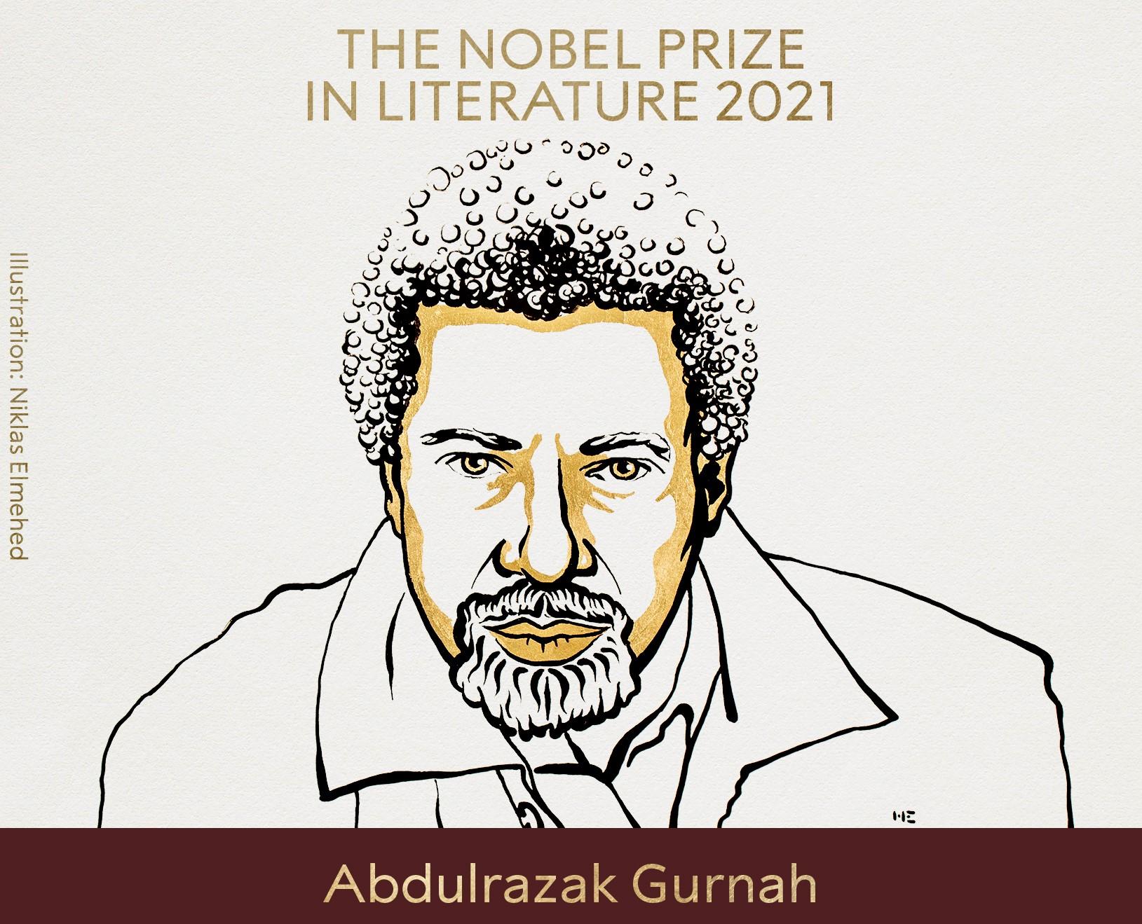 Abdulrazak Gurnah il Nobel per la Letteratura del 2021